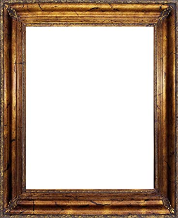 Amazoncom Ornate Vintage 4 Antique Gold Wood Picture Frame With