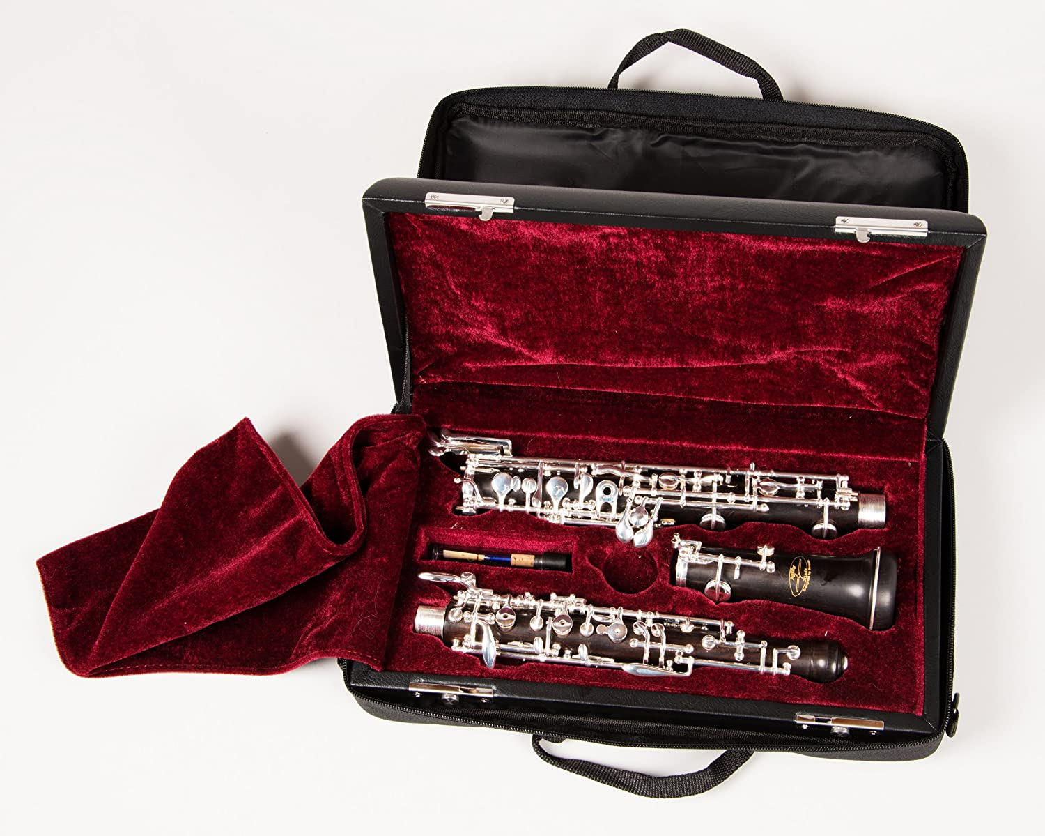 Tempest Oboe Agility Winds Model Full French Conservatory Grenadilla Forked F Resonance Side F Key 3rd Octave Key French Style Case /& Case Cover