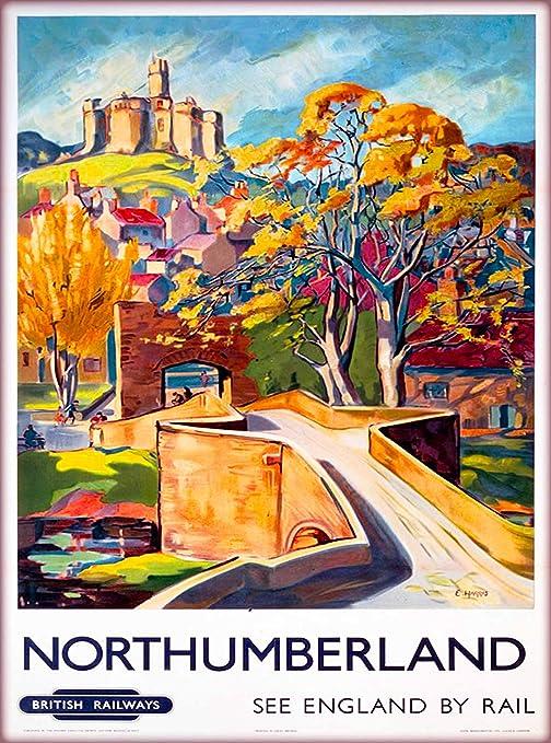 Wall art. Reproduction poster Historic Bath old Railway advert