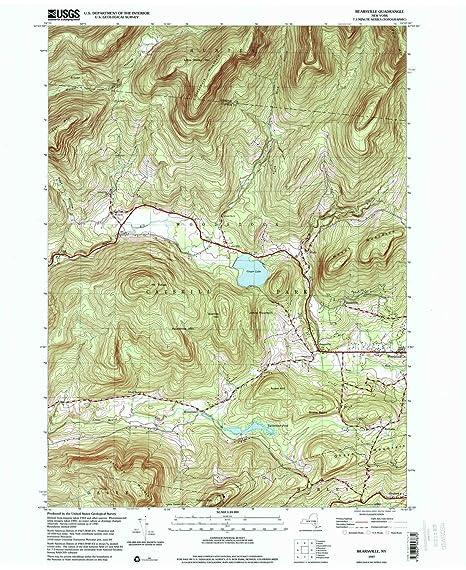 Map Of New York 2001.Amazon Com Yellowmaps Bearsville Ny Topo Map 1 24000 Scale 7 5 X