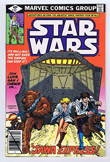 Amazon.com: Star Wars #32 Jawas 1980 Marvel Comics Bronze Age Jawa ...