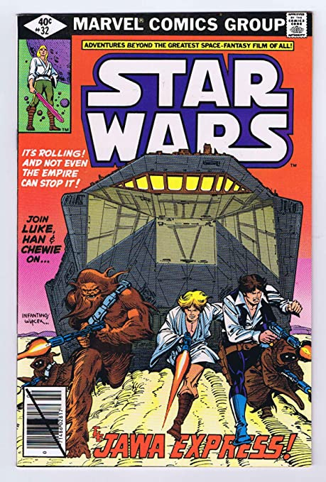 Amazon.com: Star Wars #32 Jawas 1980 Marvel Comics Bronze Age Jawa ...