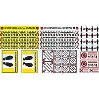 Clapper Kit 31 Pegatinas XL Seguridad Tiendas, vinilos