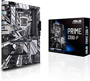 Asus Prime Z390-P LGA1151 (Intel 8th and 9th Gen) DDR4 DP HDMI M.2 Z390 ATX Motherboard with USB 3.1 Gen2
