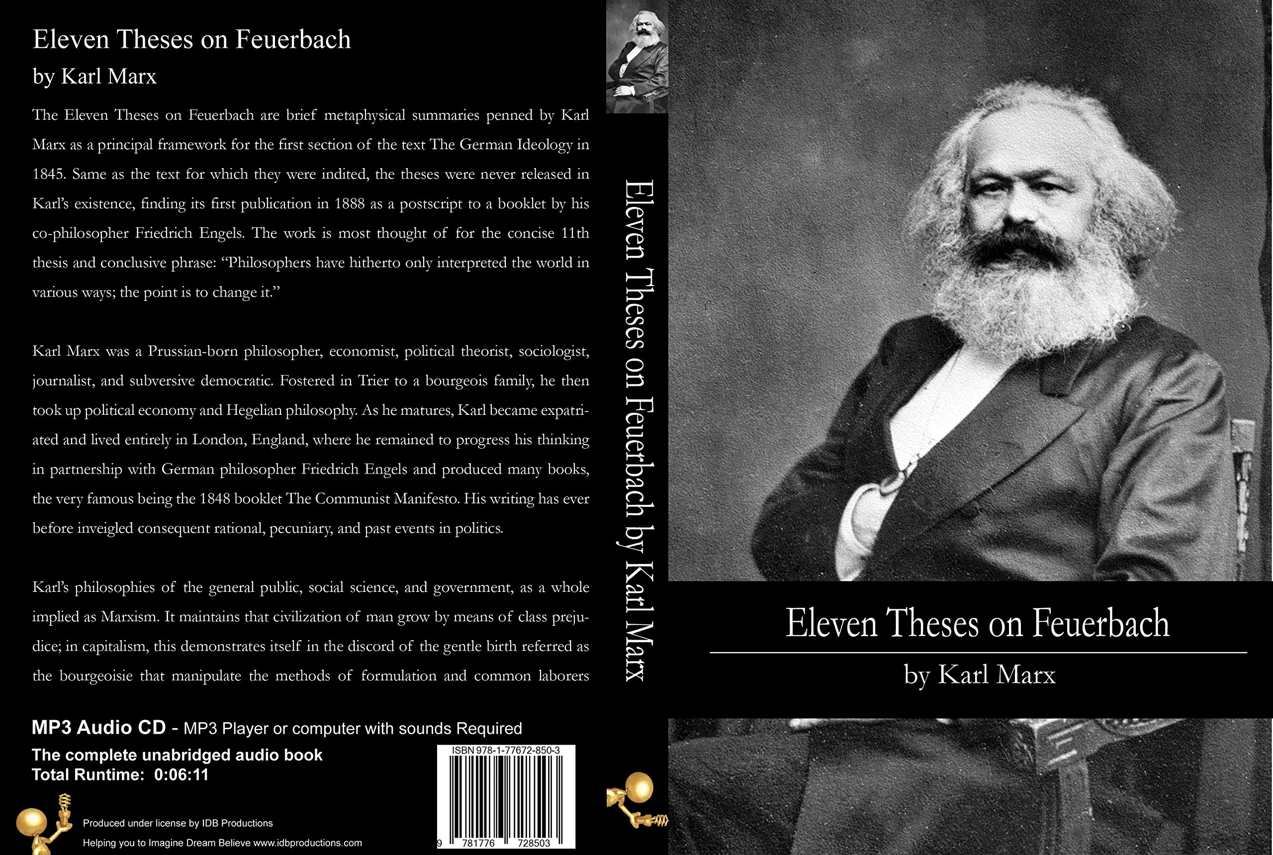 Marx feuerbach 11th thesis childrens essay outlines