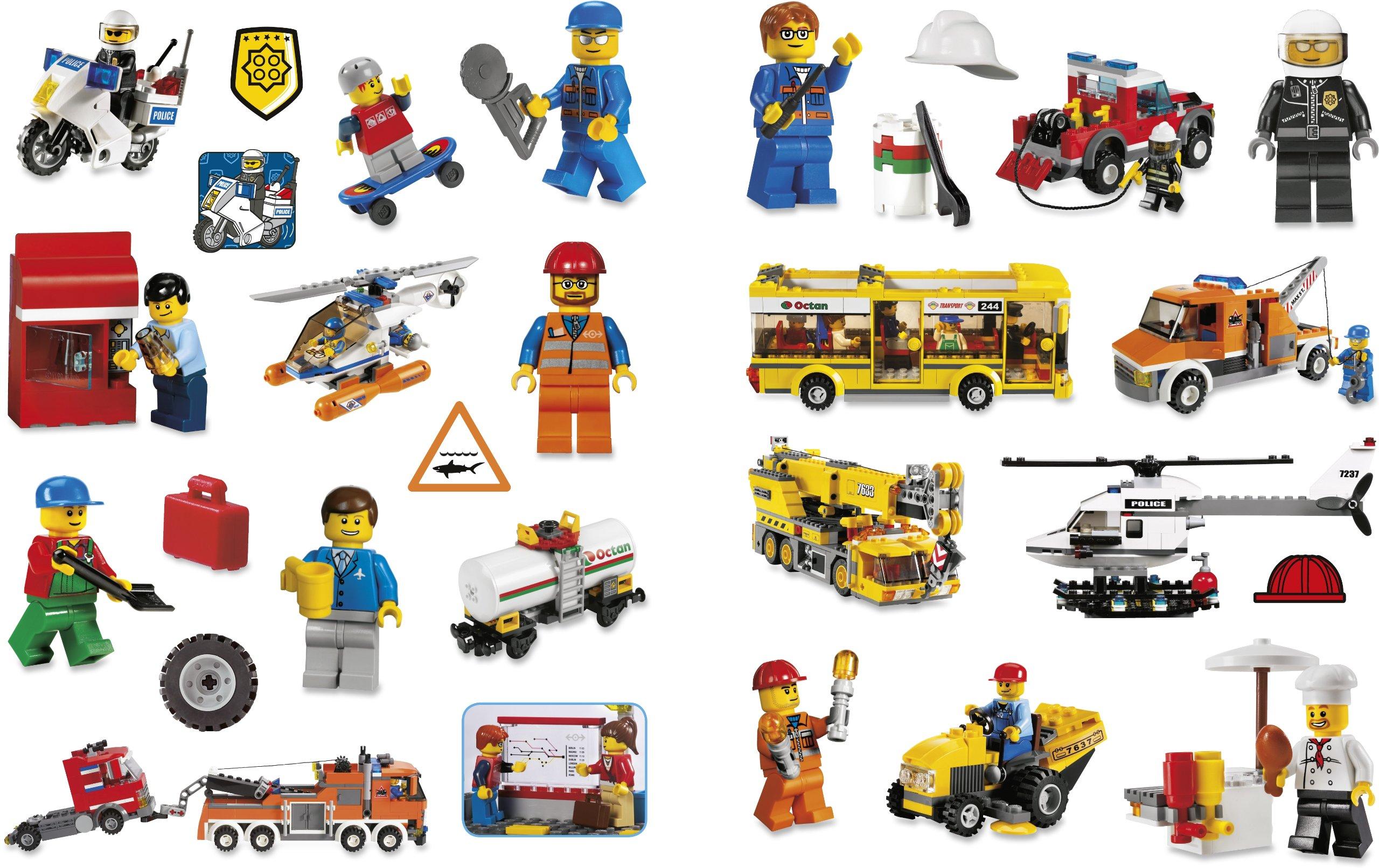 Lego City Stickers