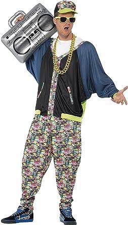 Smiffyu0027s Menu0027s 80u0027s Hip Hop Costume Jacket Pants and Hat Back to The  sc 1 st  Amazon.com & Amazon.com: Smiffyu0027s Menu0027s 80u0027s Hip Hop Costume Jacket Pants and ...