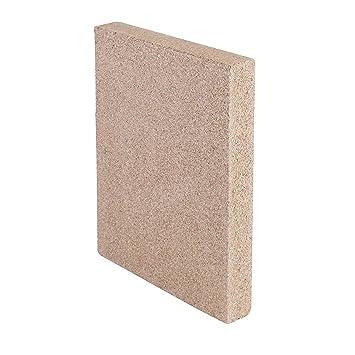 Kamino-Flam – Plancha de vermiculita, Placa protectora para chimenea, estufa, horno