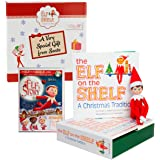 "Elf on the Shelf Blue Eyed Boy with Bonus ""An Elf Story"" DVD - Direct From North Pole in Limited Edition Official Gift Box"