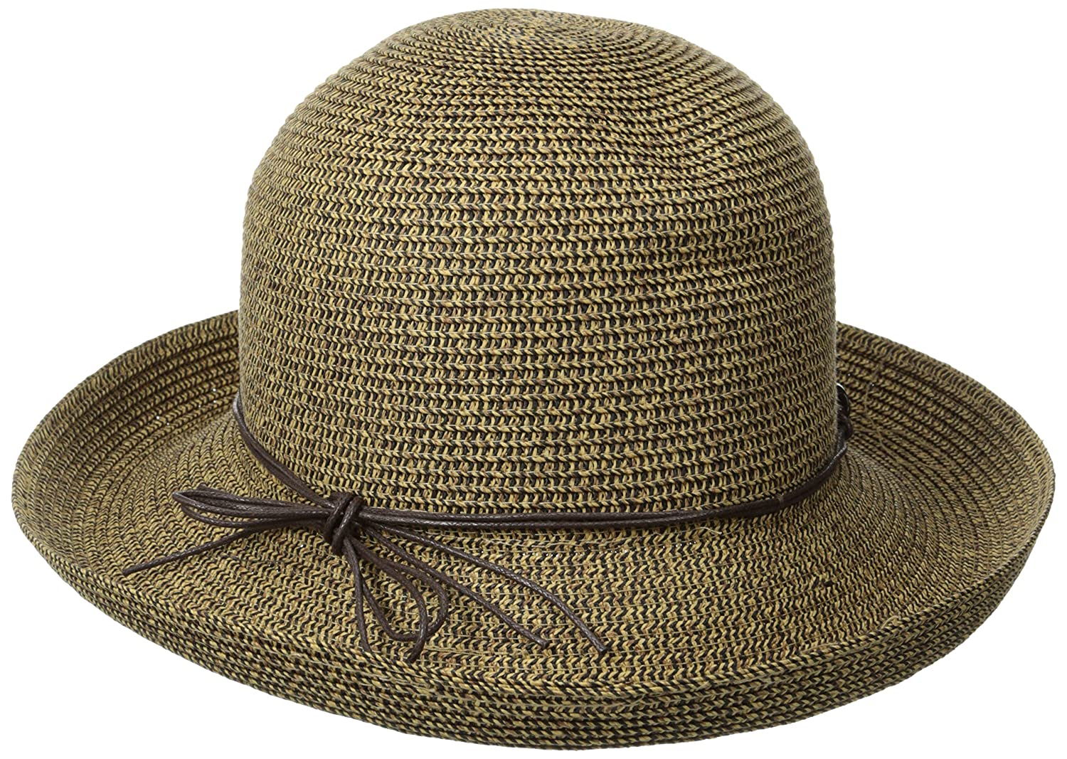 951f4bb6c38 San Diego Hat Company Women s Kettle Brim Hat with Tortoise Shell Chain