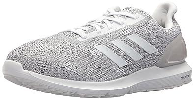 adidas Originals Mens Cosmic 2 Running Shoe Crystal White/White/Grey 10.5 M US