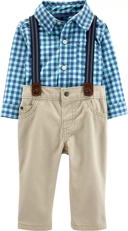 Carters Baby Boys 3 Piece Dress Me Up Set