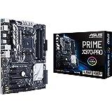 Asus Prime X370-PRO Mainboard Sockel AM4 (ATX, AMD X370, Ryzen, 4x DDR4 Speicher, 8x SATA 6GB/s, M.2 Schnittstelle, Aura)