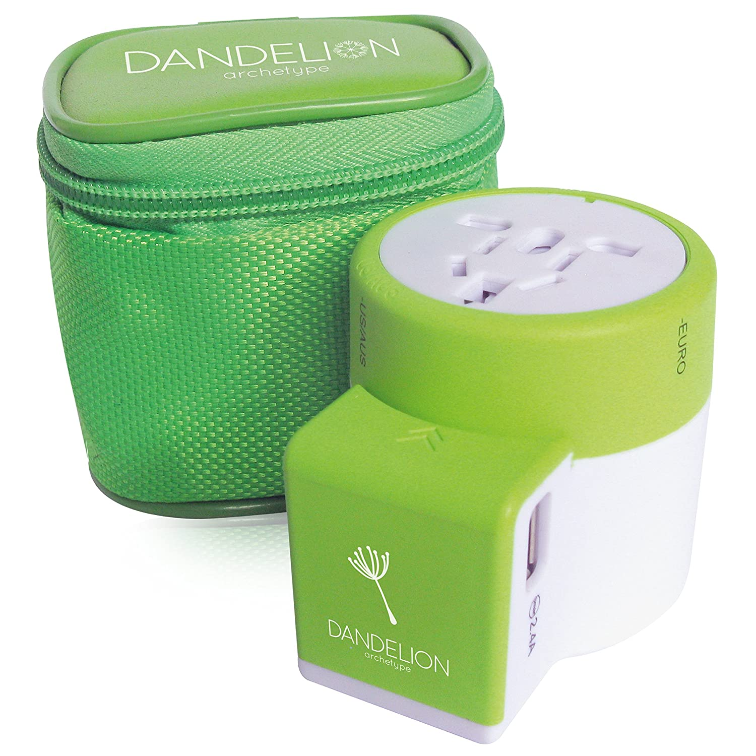 The Dandelion Travel Adapter Outlet Adapter travel product recommended by David Mitroff on Lifney.
