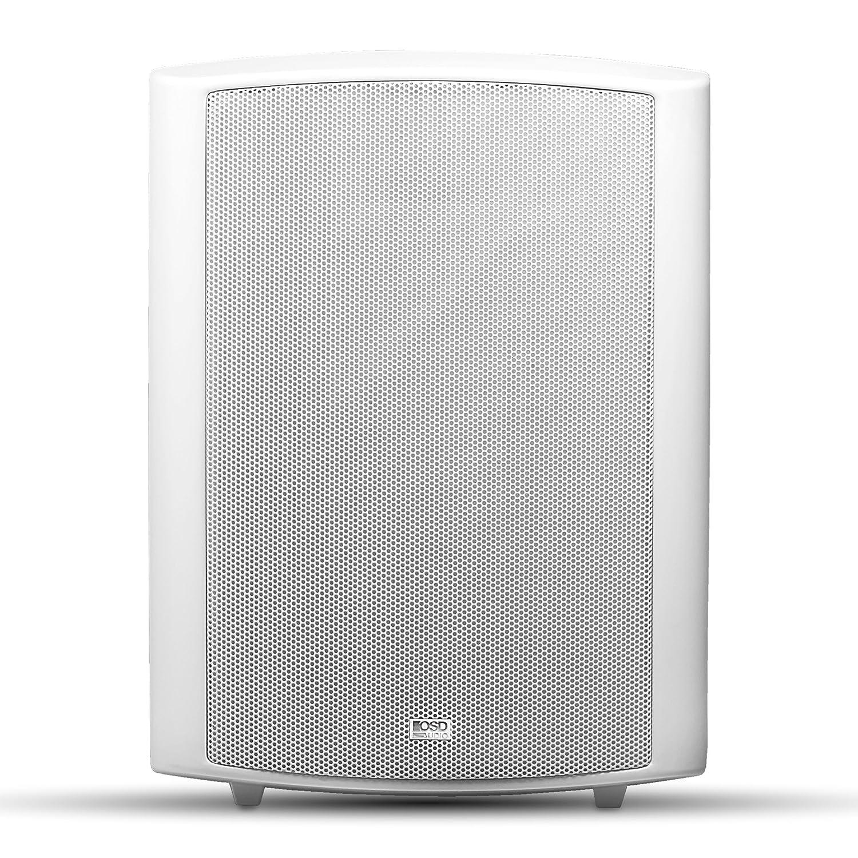 OSD Audio AP840 Outdoor High Performance Patio Speaker Pair (White) AP840 White