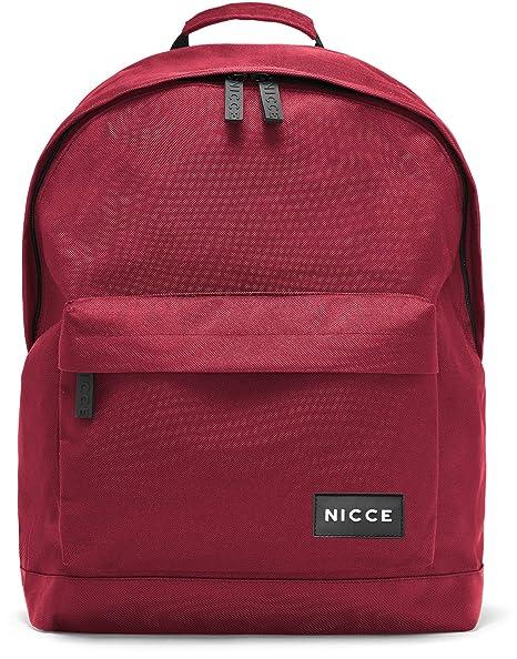 0ca8bbe29748b3 NICCE Core Backpack Bag Merlot  Amazon.co.uk  Luggage