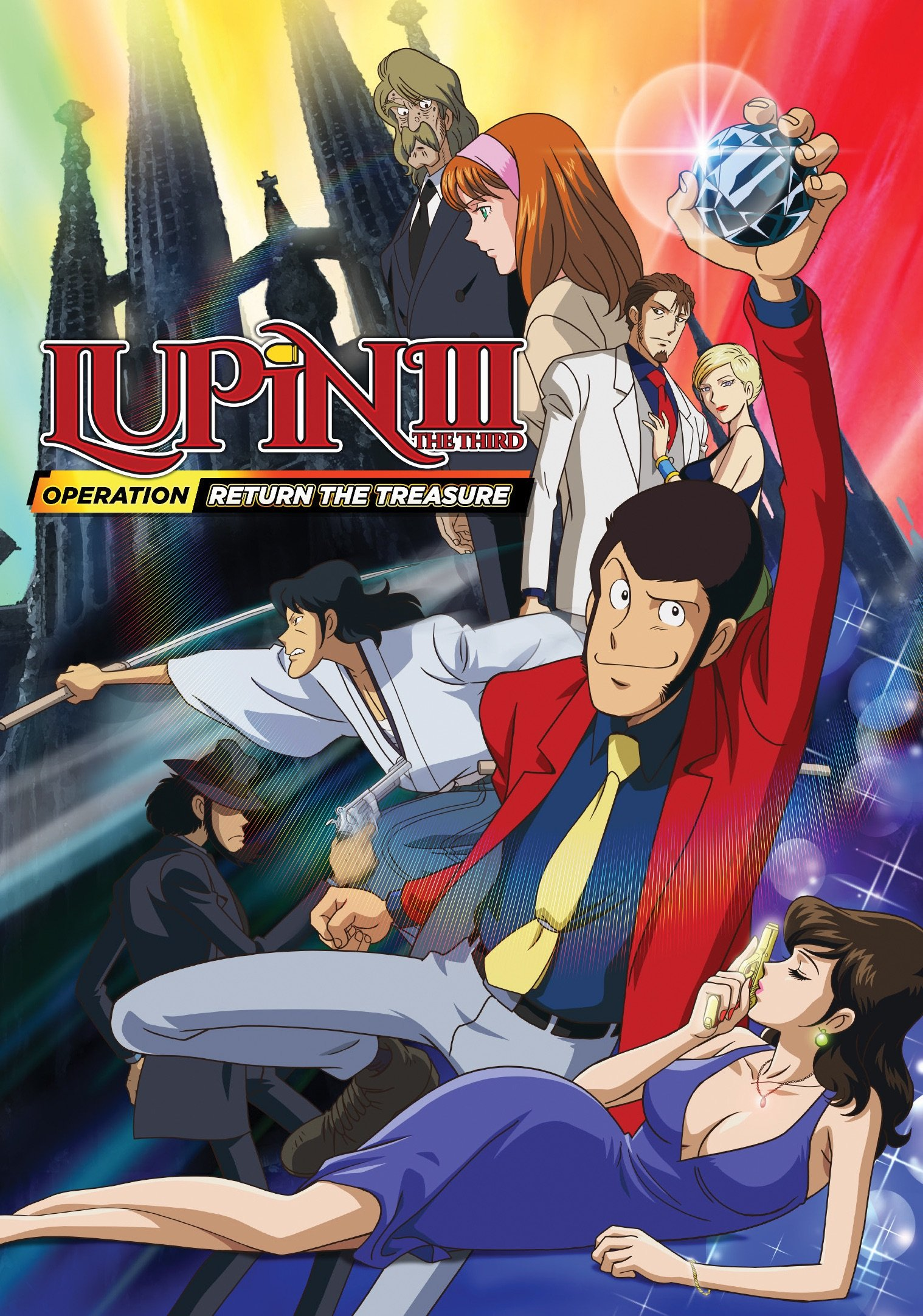 DVD : Lupin the 3rd: Operation Return the Treasure - Lupin The 3rd: Operation Return The Treasure (DVD)