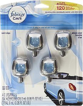 #2 Febreze Car 4-Pack Vent-Clip Air Fresheners