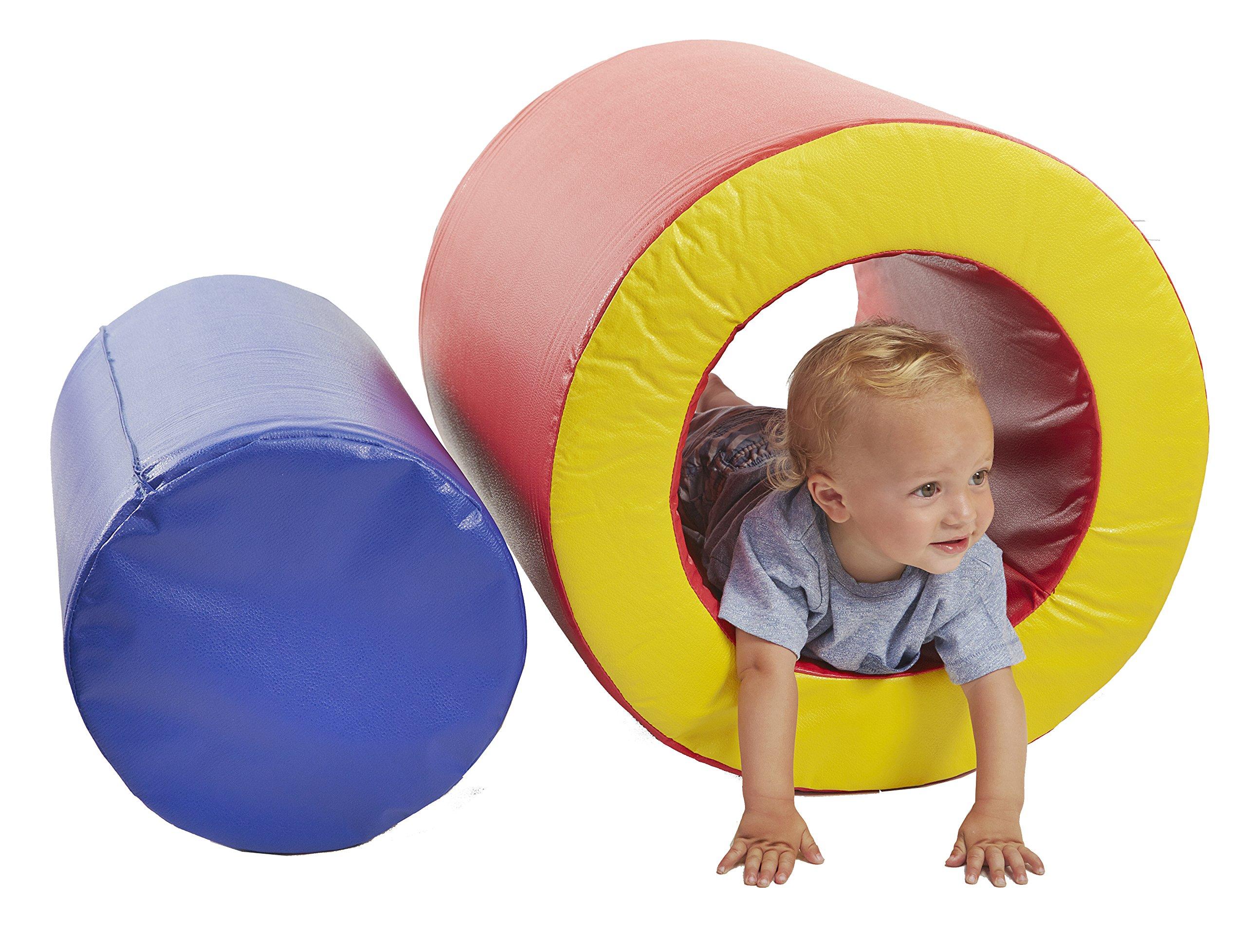 ECR4Kids Softzone Barrels of Play Fun (2-Piece)
