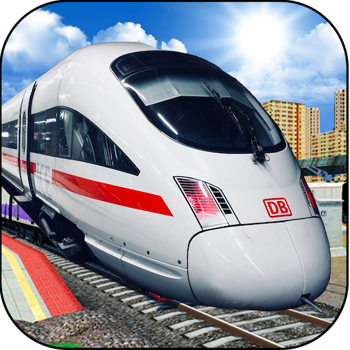 New City Train Simulator 3D - Public Transporter Train Racing Game (Amtrak Station)