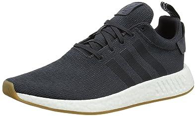 adidas Günstig Kaufen NMD_R2 Schuhe (Herren) Grau Five