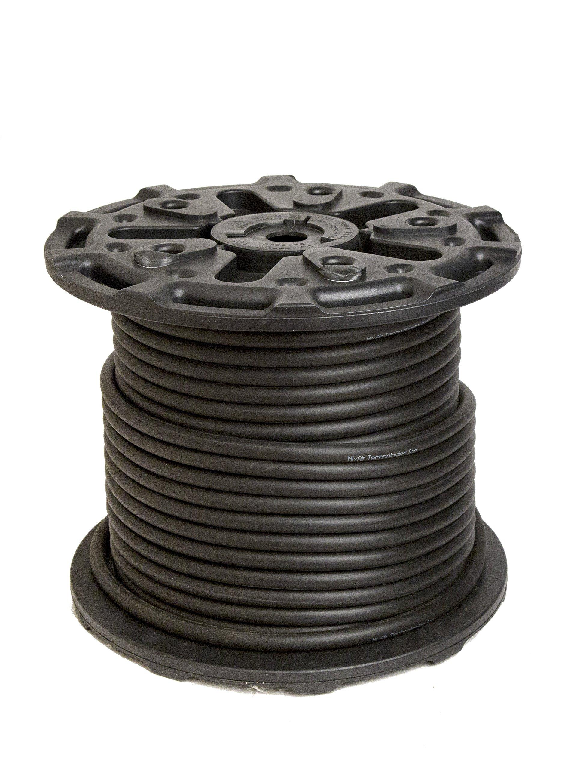 MIXAIR MixAirTech Sinking Hose, Black, 3/8-Inch/500-Feet