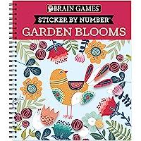 Brain Games - Sticker by Number: Garden Blooms