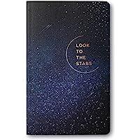 """Write Now Journal by Compendium 7052 - Cuaderno con texto en inglés""""Look to the Stars"""", Mira las estrellas, 1ea"""