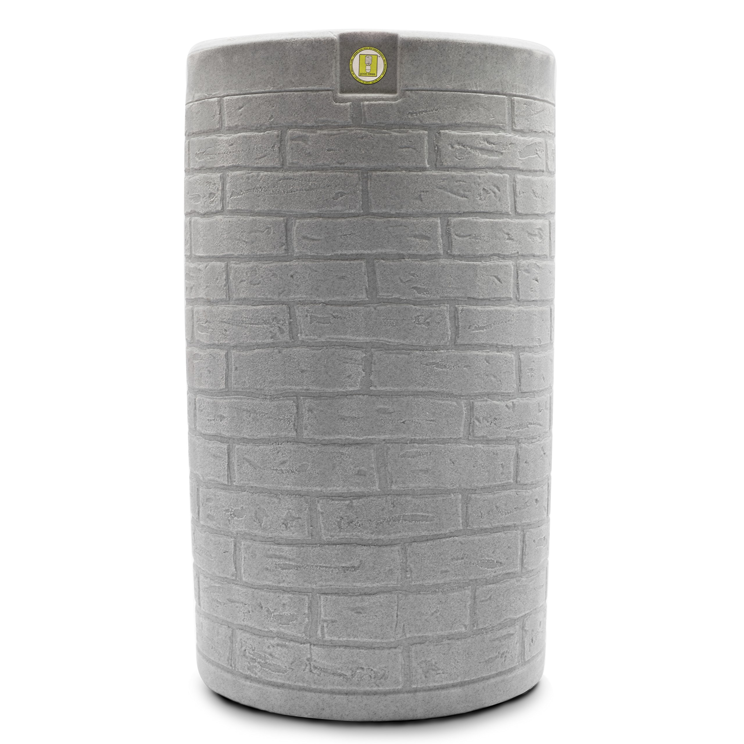 Good Ideas IMP-D50-LIG Impressions Downton Rain Saver Rain Barrel, 50 gallon, Light Granite by Good Ideas