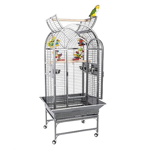 2 opinioni per Ecuador Parrot- Gabbia per pappagalli (gabbia simile a quelle delle foresta