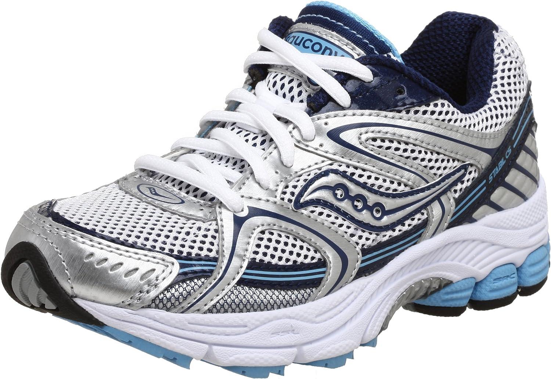 Saucony Lady Progrid Stabil CS Zapatillas de Correr, Color Plateado, Talla 40 EU: Amazon.es: Zapatos y complementos