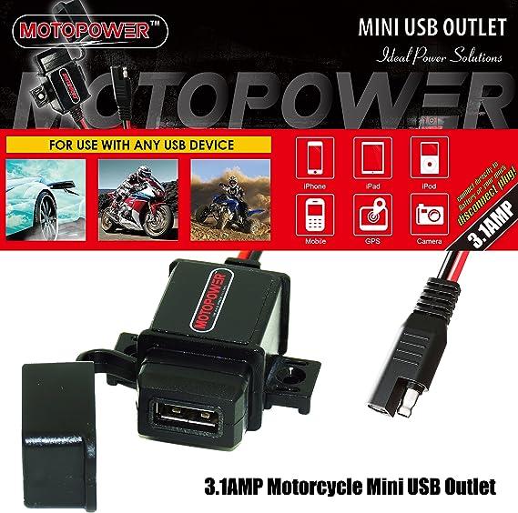 Cable Adaptador para Encendedor de Cigarrillos MOTOPOWER MP68993 SAE