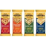 Sonoma Creamery Cheese Crisp Bars Variety Pack, 2-Bar Packs, (Pack of 8)