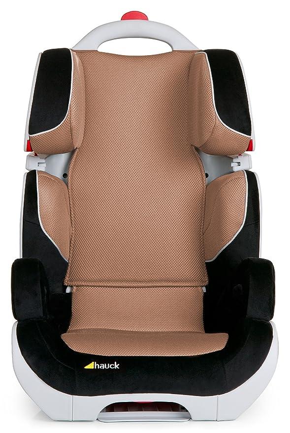 Hauck Bodyguard - Asiento de coche, grupo II/ III para niños de 3-12 años o 15-36 kg de peso, color negro/ marrón, talla 44 x 46.5 x 70 cm: HAUCK: ...