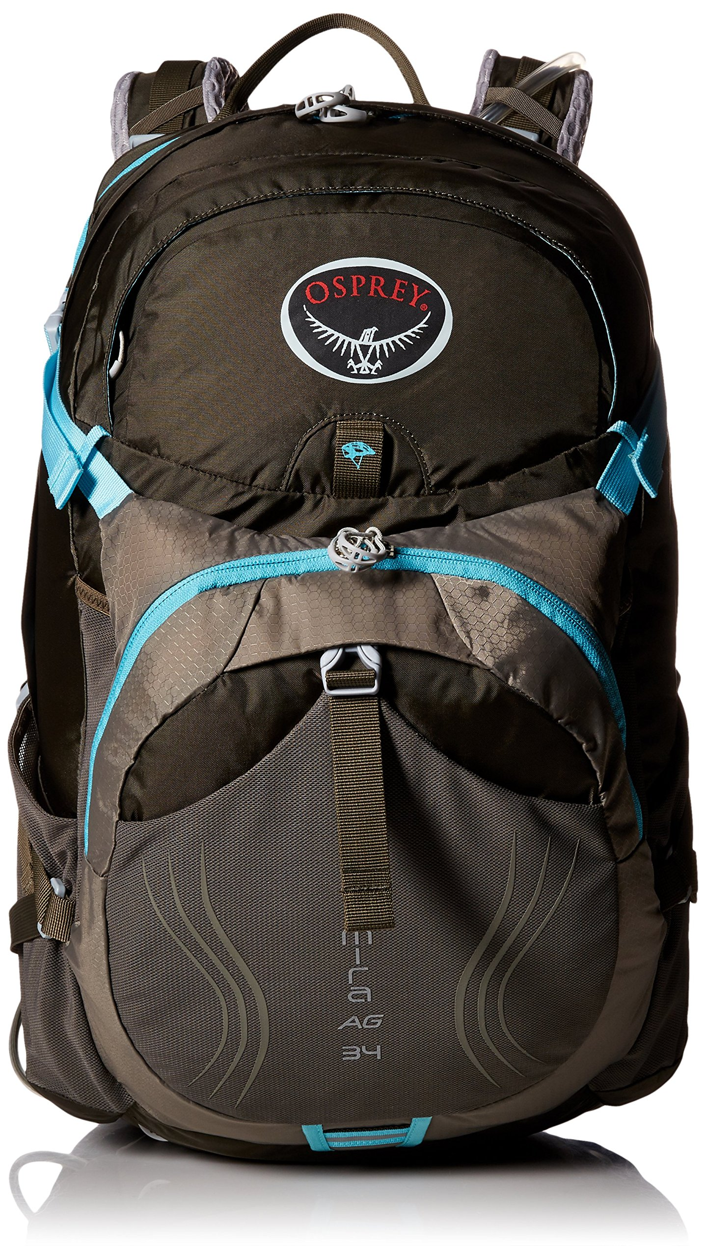 Osprey Packs Women's Mira AG 34 Hydration Pack, Misty Grey, X-Small/Small
