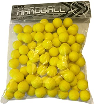 NERF RIVAL REFILL AMMO - 100 BALLS. Hardball Brand and fully compatible  with Apollo and