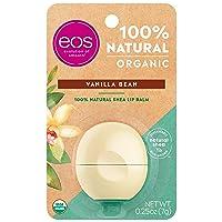 eos USDA Organic Lip Balm - Vanilla Bean | Lip Care to Nourish Dry Lips | 100% Natural...