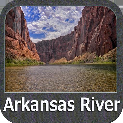 Arkansas River GPS Map Navigator (Fishing Gps Software)