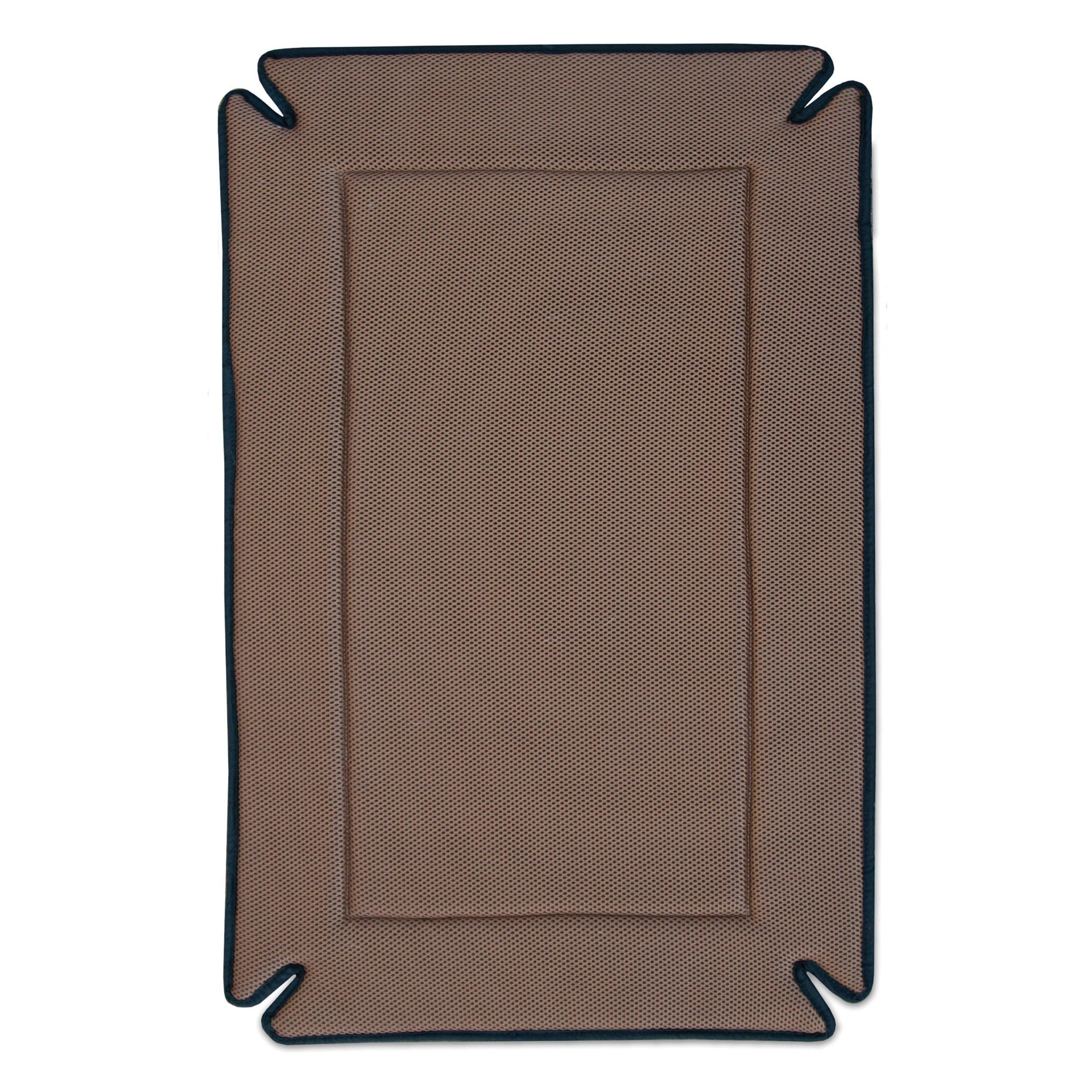 K&H Pet Products Odor-Control Crate Pad XX-Large Mocha 37'' x 54''