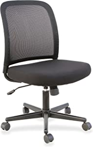 Lorell Mesh Armless Mid-Back Task Chair