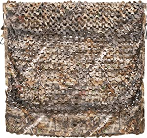 Auscamotek 300D Woodland Camo Netting Camouflage Net Hunting Blinds 5x6.5/10/13/20 feet Different Size and Colors Available