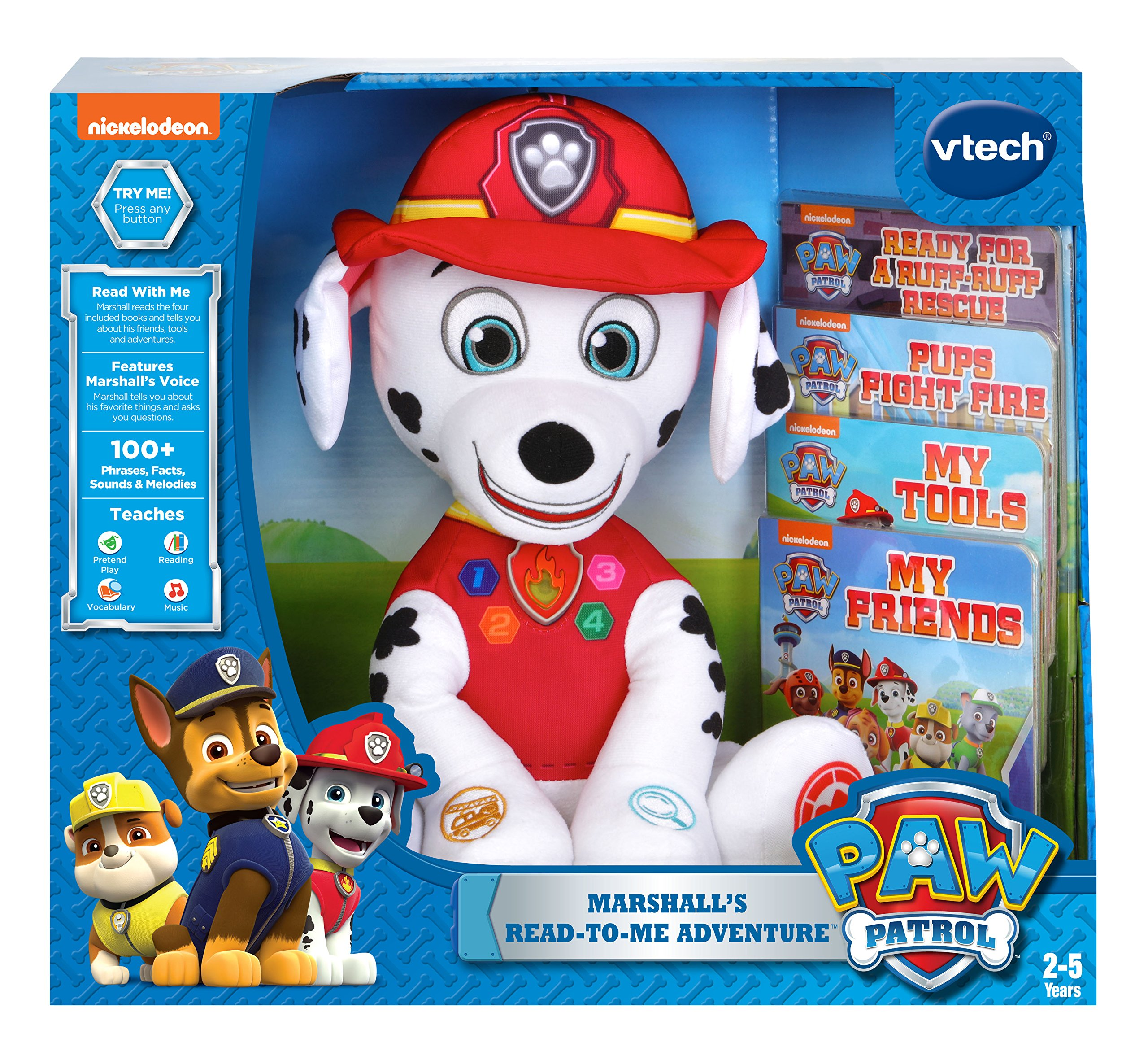 VTech PAW Patrol Marshall's Read-to-Me Adventure by VTech (Image #4)