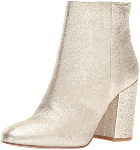 303e28122110 Kenneth Cole New York Women s Caylee Dress Block Heel Leather Ankle Bootie