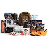 4 Person Premium Family Emergency Survival Bag With 72 Hours of Disaster Preparedness Supplies