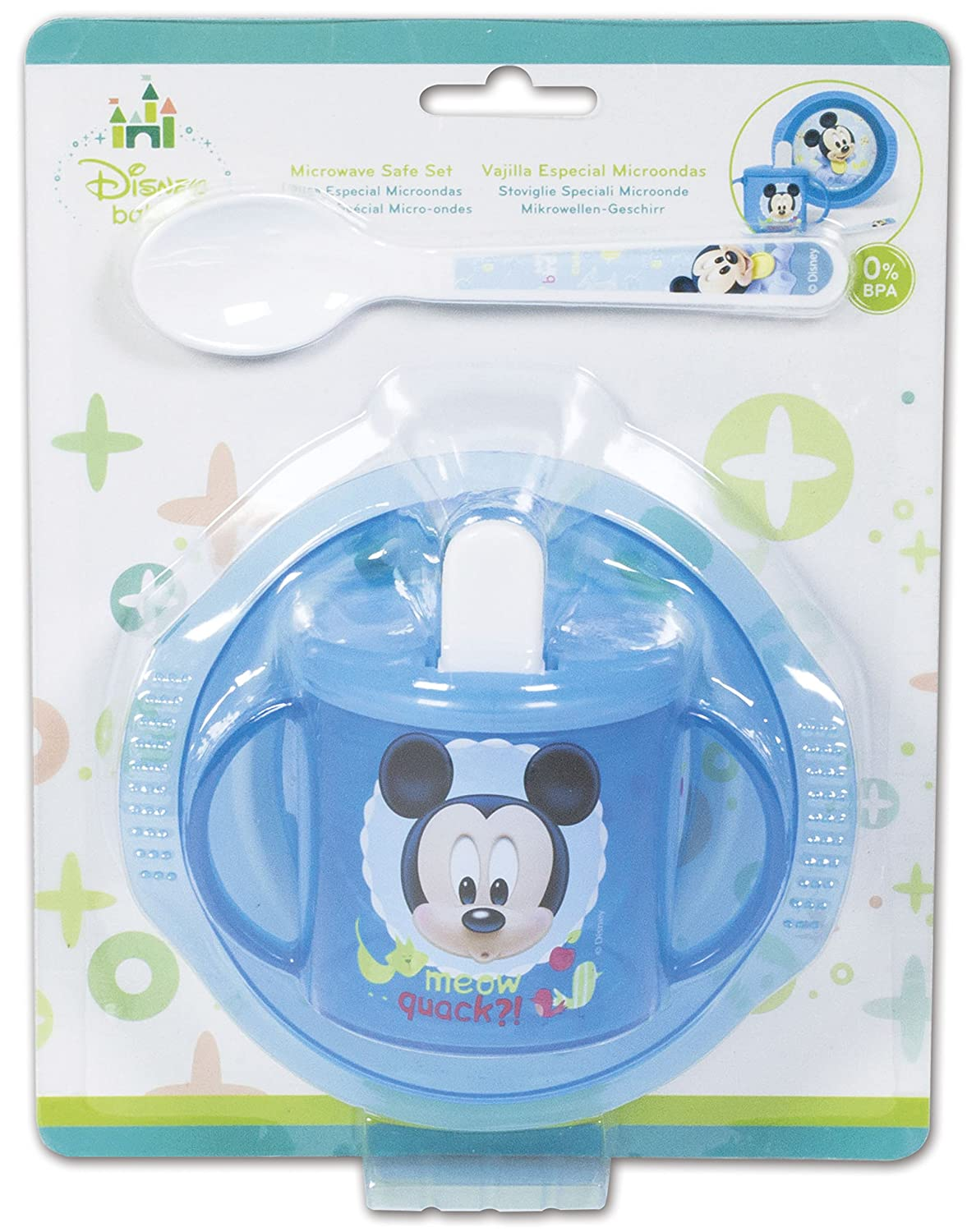 3 Piece Baby Set - Mickey Mouse Baby