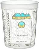 MOUNTAIN MTN4202 Disposable Quart Mixing Cup (100 per case), Solvent Resistant, Graduated Paint Mixing Cups