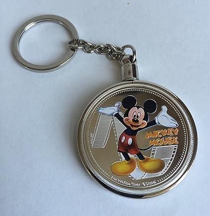 Disney Character Mickey Mouse bañado en plata de desafío ...