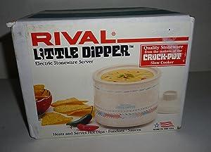 Rival Little Dipper Mini Crock Pot Southwest Style Design