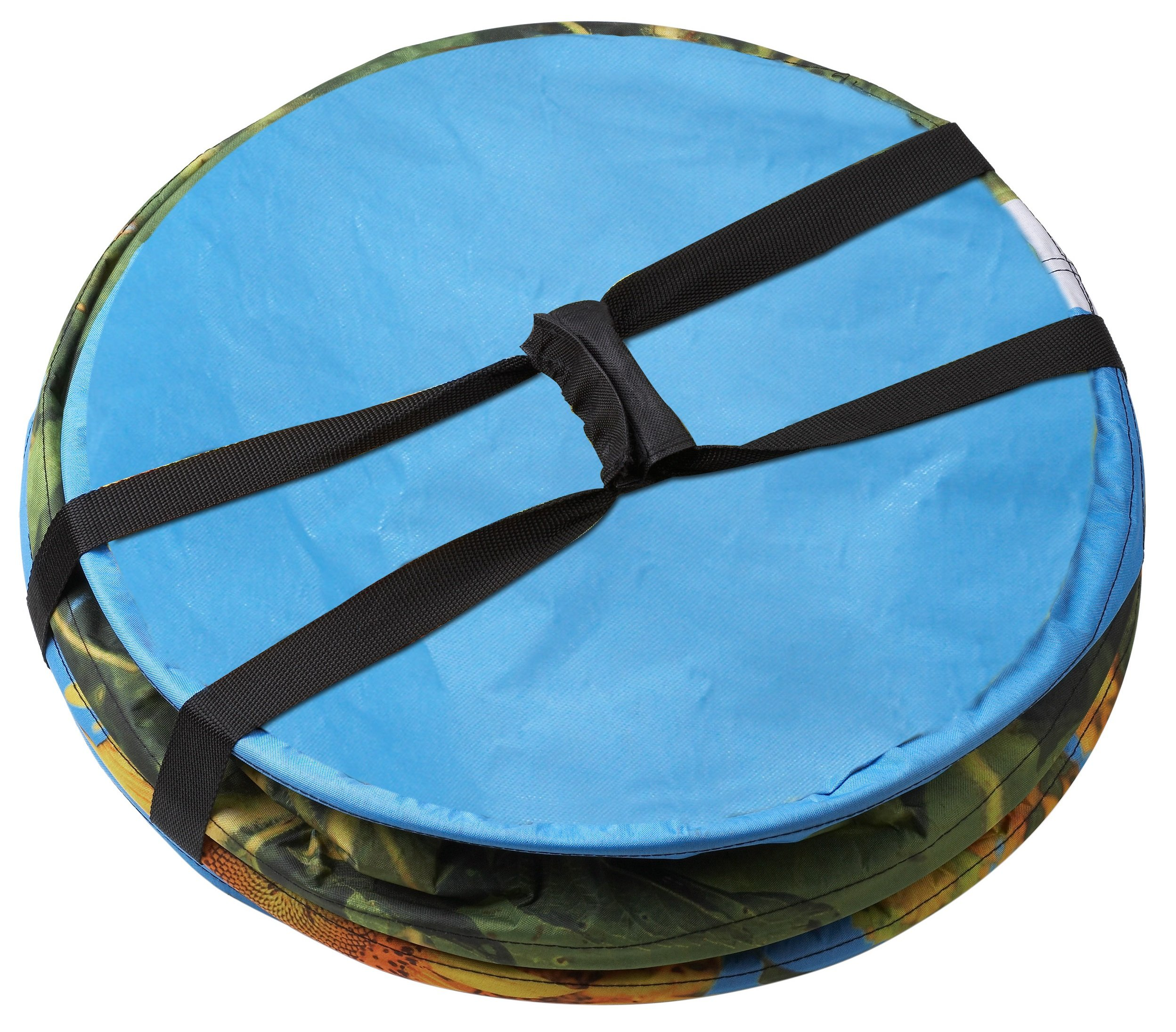 Platte Acrylglas GS Fluoreszierend blau Zuschnitt alt-intech/® 500 x 500 x 3 mm