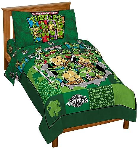 Ninja Turtle Bedroom Set | Nickelodeon Teenage Mutant Ninja Turtles Bed Set For Toddlers